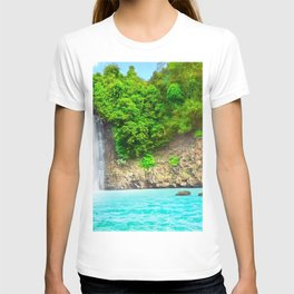 Dambri Waterfall Dalat Bao Loc Vietnam Ultra HD T-shirt