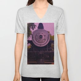 Bakersfield Train 2914.2 Unisex V-Neck