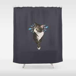 Indian cat Shower Curtain