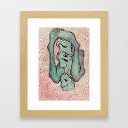 s w o r d  Framed Art Print