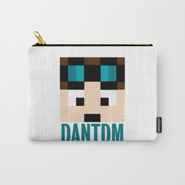 DANTDM Graphic Crystal Carry-All Pouch