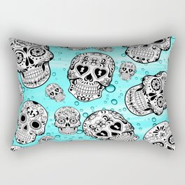 Sugar Skulls Rectangular Pillow
