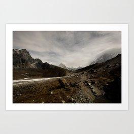 Himalayas Art Print