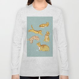 Various cats Long Sleeve T-shirt
