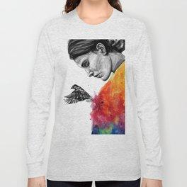 Goodbye depression Long Sleeve T-shirt