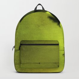Neon Green Hummingbird behind the Blinds by CheyAnne Sexton Backpack