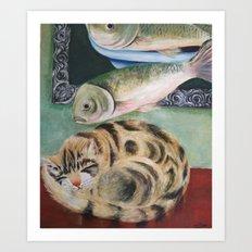 happy dreamer Art Print