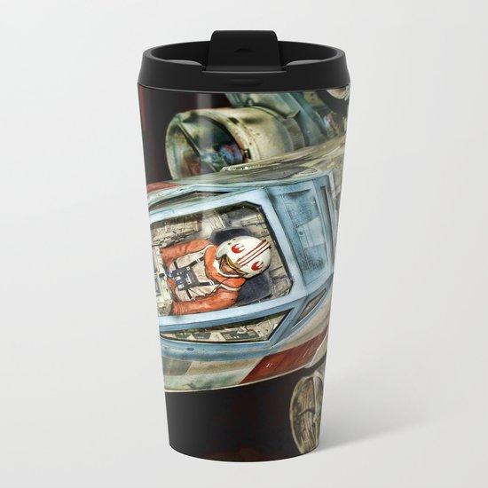X-Wing Fighter Metal Travel Mug
