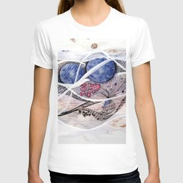 Space Planet Star Abstraction T-shirt