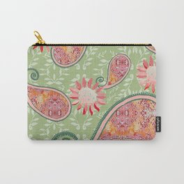 zakiaz pink paisley Carry-All Pouch