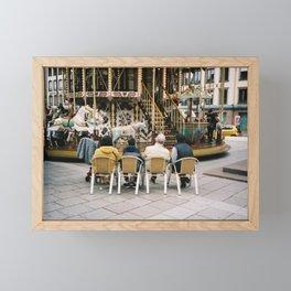 Les vieux de Strasbourg Framed Mini Art Print