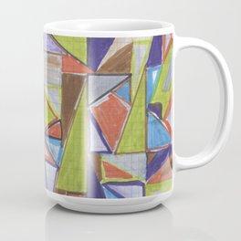 Colored Triangles Coffee Mug