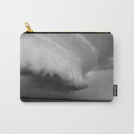 Cape Tryon Vortex Black and White Carry-All Pouch