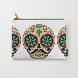Santa Fe Sugar Skull Carry-All Pouch