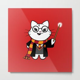 Wizardkitty Griffin House! Metal Print