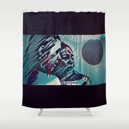 Just Shut It All Down - Eclipse Shower Curtain