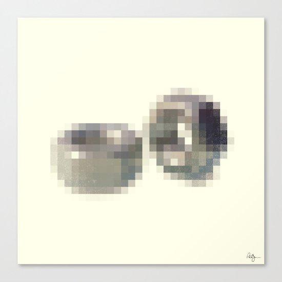 Censored Hardware Fasteners Canvas Print
