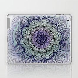 Mandala Violet Laptop & iPad Skin