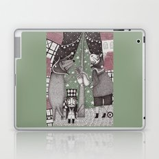 Of Snow and Stars and Christmas Wishes Laptop & iPad Skin
