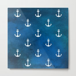 Little Anchors Metal Print