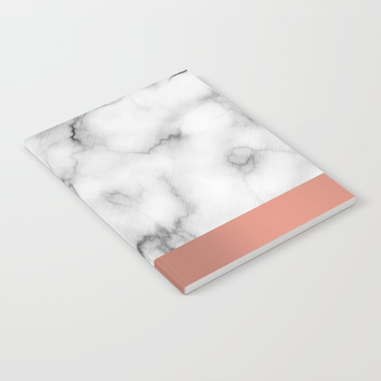 Marble & copper Notebook