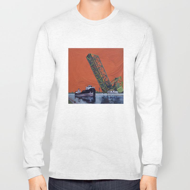 Gauron Jackknife Bridge Long Sleeve T Shirt By In Griffintown Society6