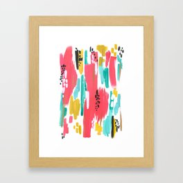 Watermelon Abstract  Framed Art Print