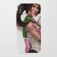 sailor jupiter iPhone & iPod Cases featuring Sailor Jupiter by KlsteeleArt