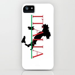 Italia & Italian Boot iPhone Case