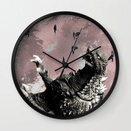 godzilla attack Wall Clock