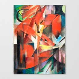 Franz Marc  - The Foxes Canvas Print