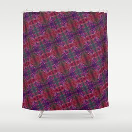Electron Bloom Shower Curtain
