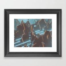 Cutting Edge Framed Art Print