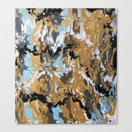 Golden Calypso Canvas Print