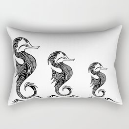 Ride the Sea Rectangular Pillow