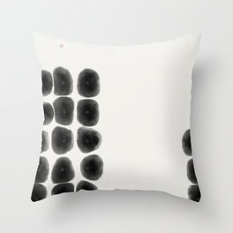 Abacus (West Meets East Series) Throw Pillow