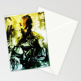 I am the rain transformed Stationery Cards