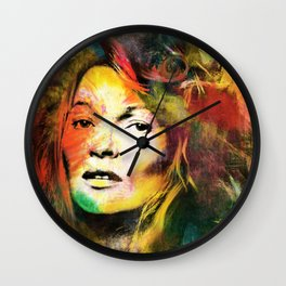 Colors of Kate Wall Clock