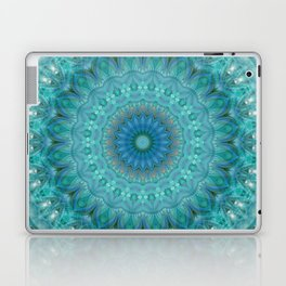 Mandala luminous Opal Laptop & iPad Skin