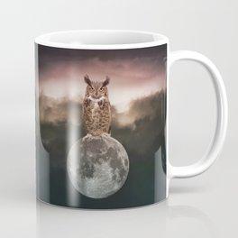 Owl Full Moon Coffee Mug