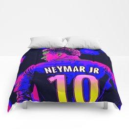 Neon Neymar Comforters
