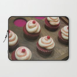 Canadian Red Velvet Cupcakes Laptop Sleeve