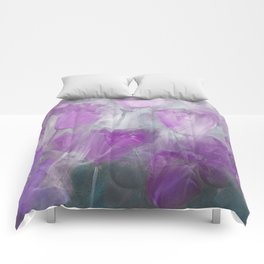 Shades of Lilac Comforters