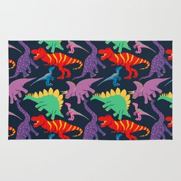 Dinosaur Domination - Dark Rug