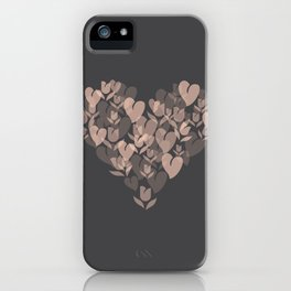 Love and Tulips iPhone Case