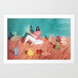 Amongst Friends Art Print