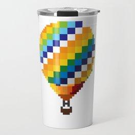 Pixel BTS Young Forever Hot Air Balloon Travel Mug