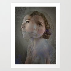 Within Her Art Print