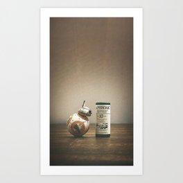 BB-Peat Art Print