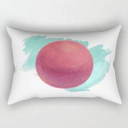 Red Moon Rectangular Pillow